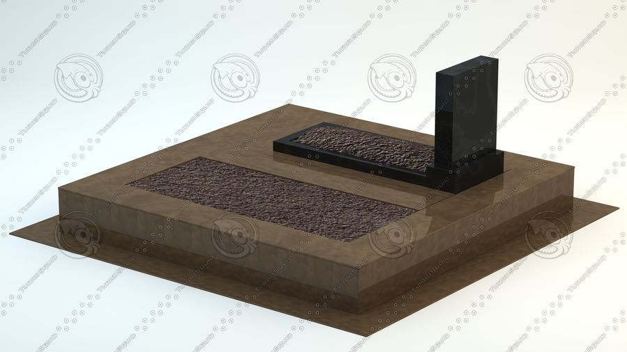 grave royalty-free 3d model - Preview no. 5