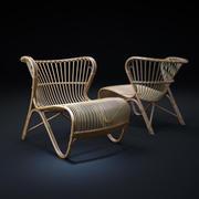 fox-rotting-vardagsrum-stol 3d model