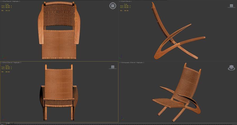 JH-510-ile-Hans-J-Wegner royalty-free 3d model - Preview no. 9