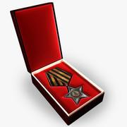 苏联光荣勋章 3d model