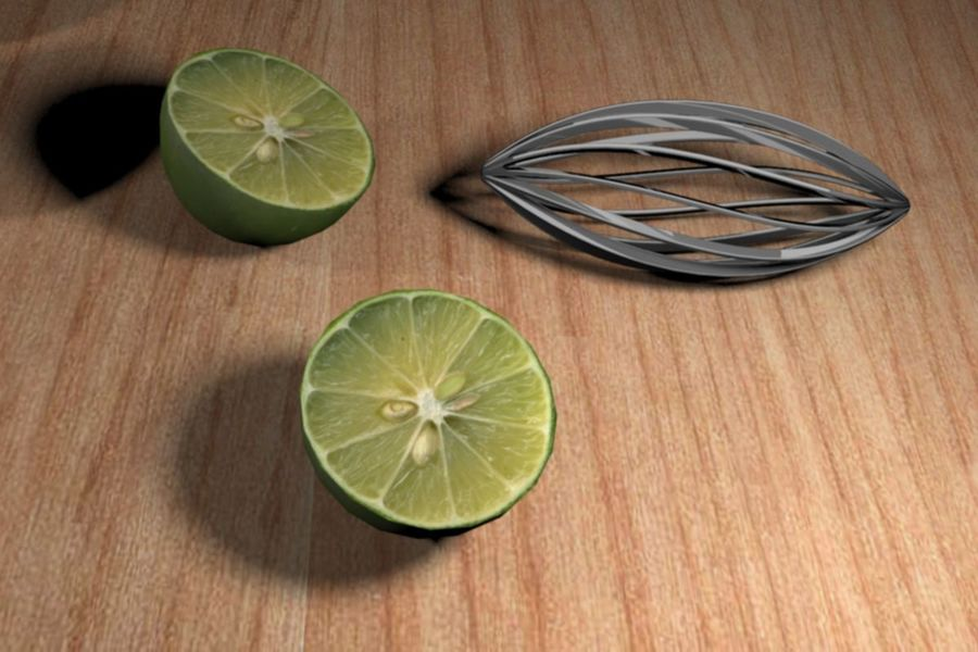 Citrus Juicer royalty-free 3d model - Preview no. 5