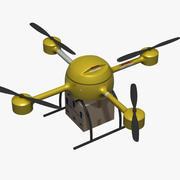 Dostawa Drona 3d model