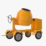 Cement Mixer 2 3D-modell 3d model