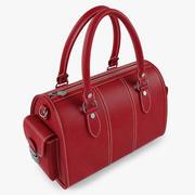 Skórzana torba Womans 3d model