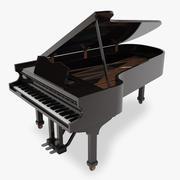 Grote piano 3d model