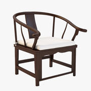 Antique Chinese Chair 3d model