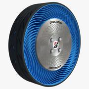 Air free wheel 3d model