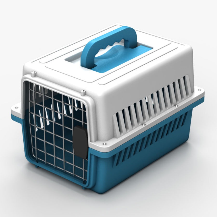 Gabbia per animali domestici royalty-free 3d model - Preview no. 1
