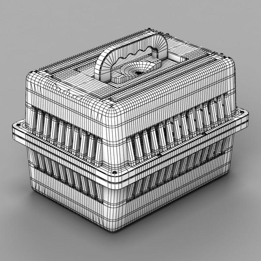 Gabbia per animali domestici royalty-free 3d model - Preview no. 8