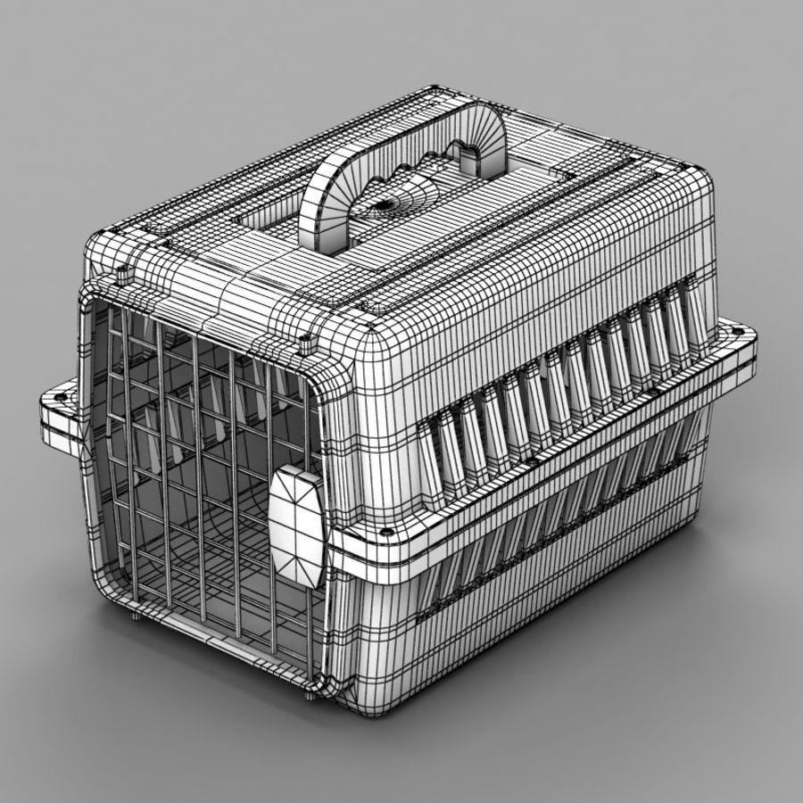 Gabbia per animali domestici royalty-free 3d model - Preview no. 7