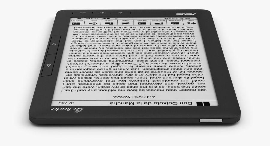 Asus Okuyucu royalty-free 3d model - Preview no. 10