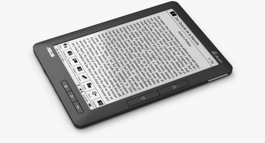 Asus Okuyucu royalty-free 3d model - Preview no. 3