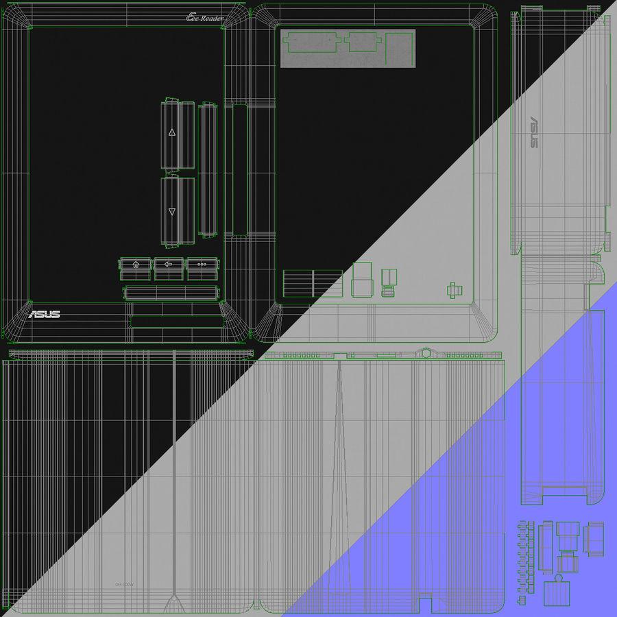 Asus Okuyucu royalty-free 3d model - Preview no. 36