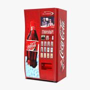 Coca Cola自動販売機3Dモデル 3d model