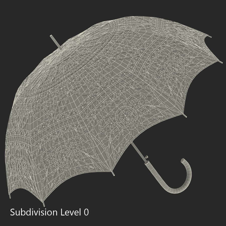 Parasol Parasol royalty-free 3d model - Preview no. 16
