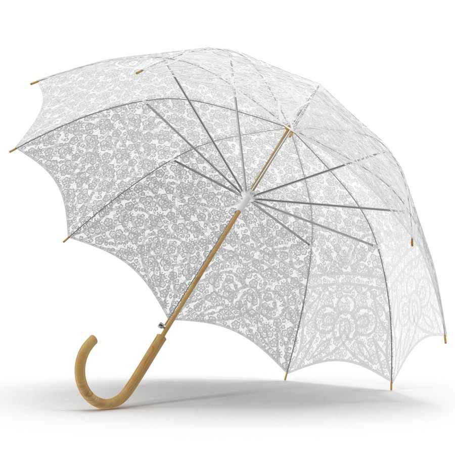 Parasol Parasol royalty-free 3d model - Preview no. 6