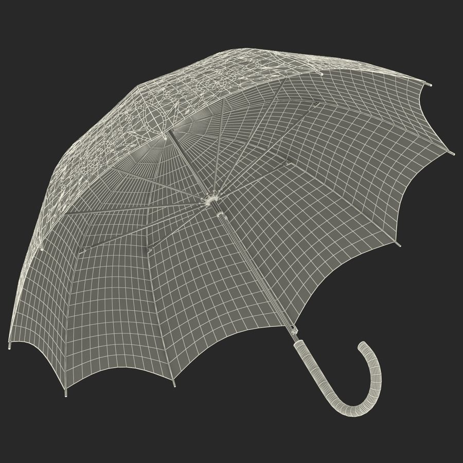Parasol Parasol royalty-free 3d model - Preview no. 22