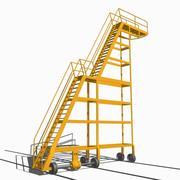산업용 슬라이딩 사다리 3d model