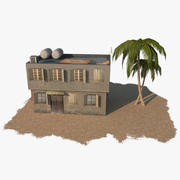 Arab Building 6 3d model