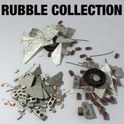 Rubble Collection 3d model