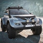 Arctic Trucks Geländewagen 3d model