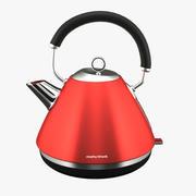 Accents Bouilloire Traditionnelle Rouge 3d model