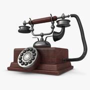 Telefone antigo 3d model