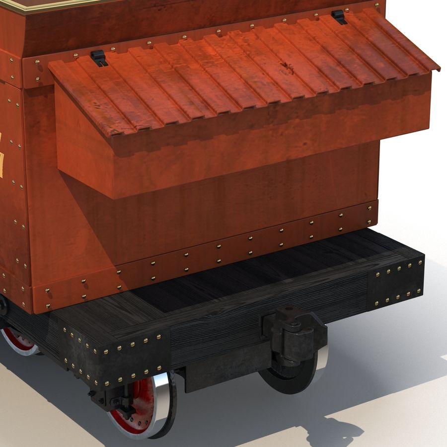 Old Coal Car Modèle 3D royalty-free 3d model - Preview no. 12