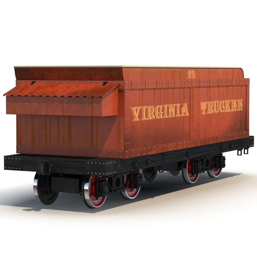 Old Coal Car Modèle 3D royalty-free 3d model - Preview no. 5