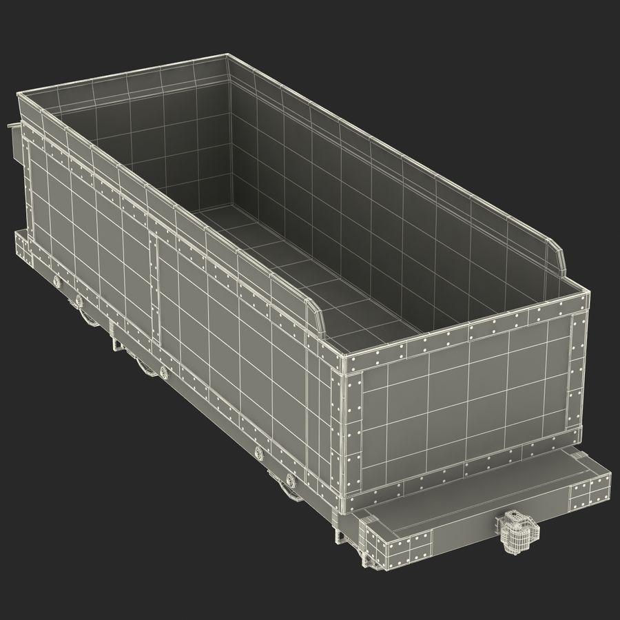Old Coal Car Modèle 3D royalty-free 3d model - Preview no. 20