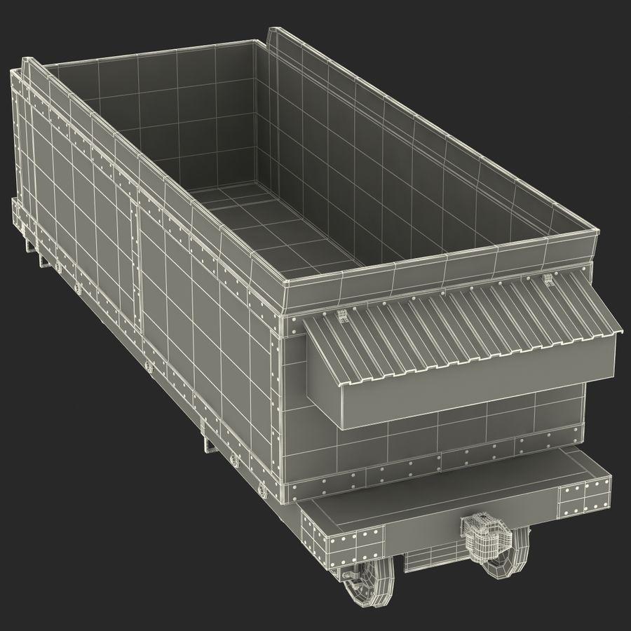 Old Coal Car Modèle 3D royalty-free 3d model - Preview no. 21