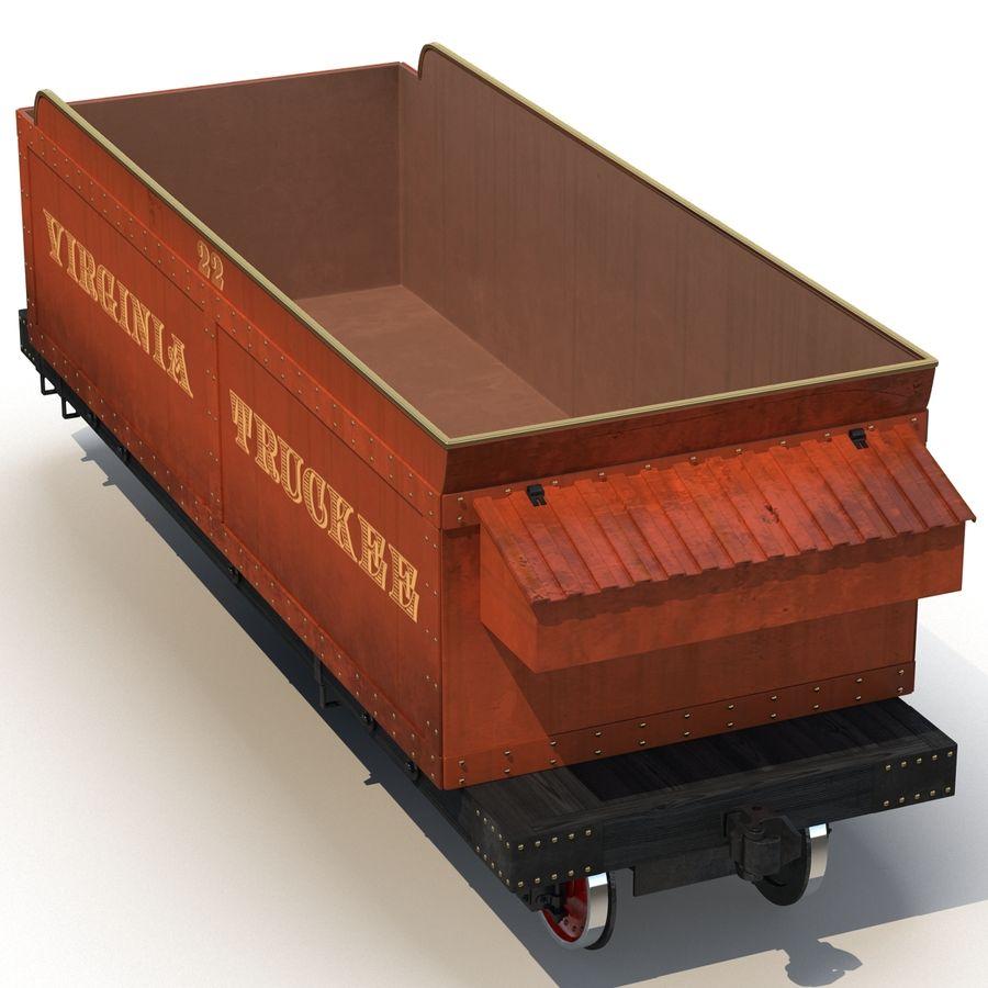 Old Coal Car Modèle 3D royalty-free 3d model - Preview no. 6