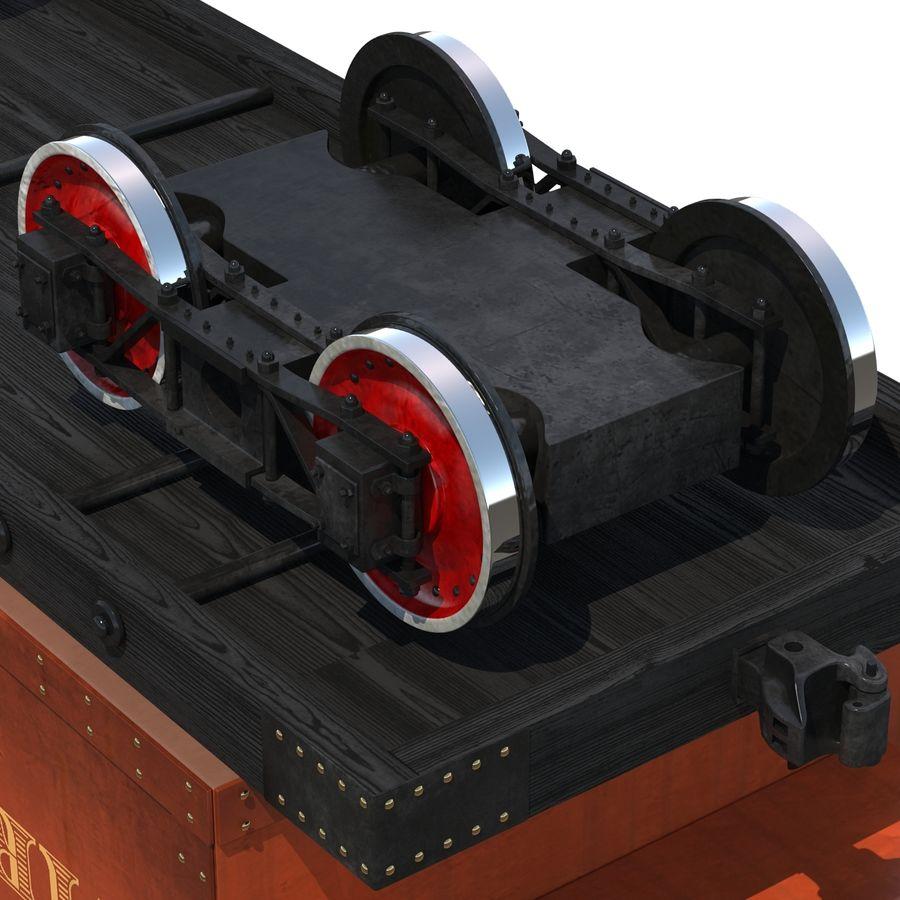 Old Coal Car Modèle 3D royalty-free 3d model - Preview no. 9