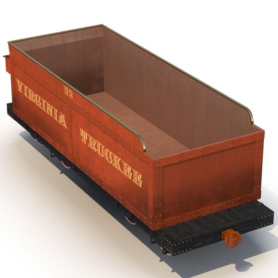 Old Coal Car Modèle 3D royalty-free 3d model - Preview no. 4