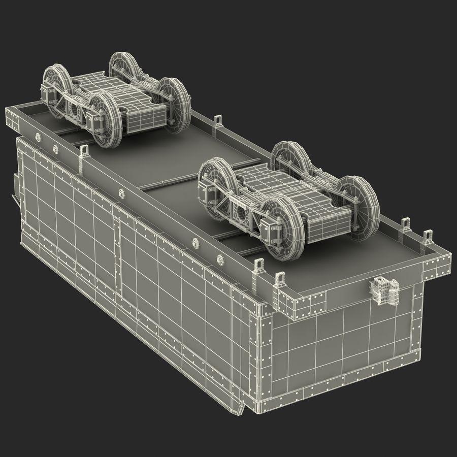 Old Coal Car Modèle 3D royalty-free 3d model - Preview no. 22