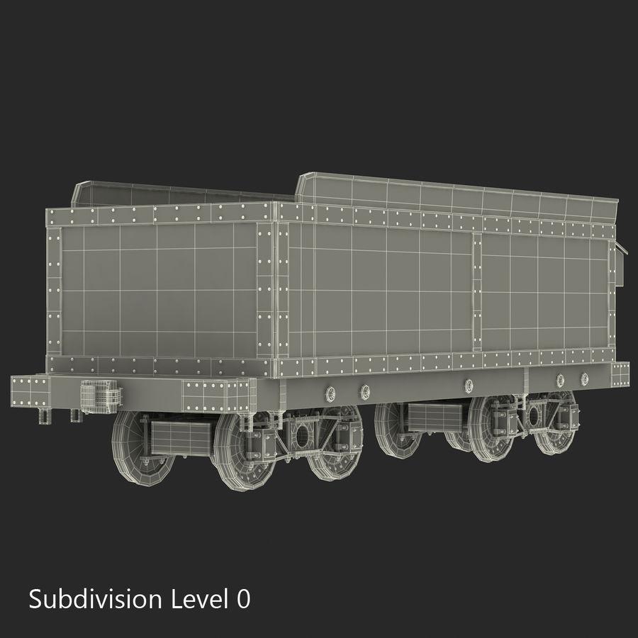 Old Coal Car Modèle 3D royalty-free 3d model - Preview no. 14