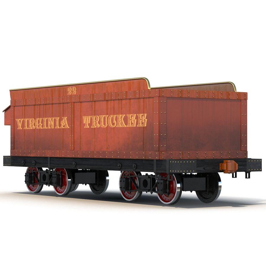 Old Coal Car Modèle 3D royalty-free 3d model - Preview no. 3