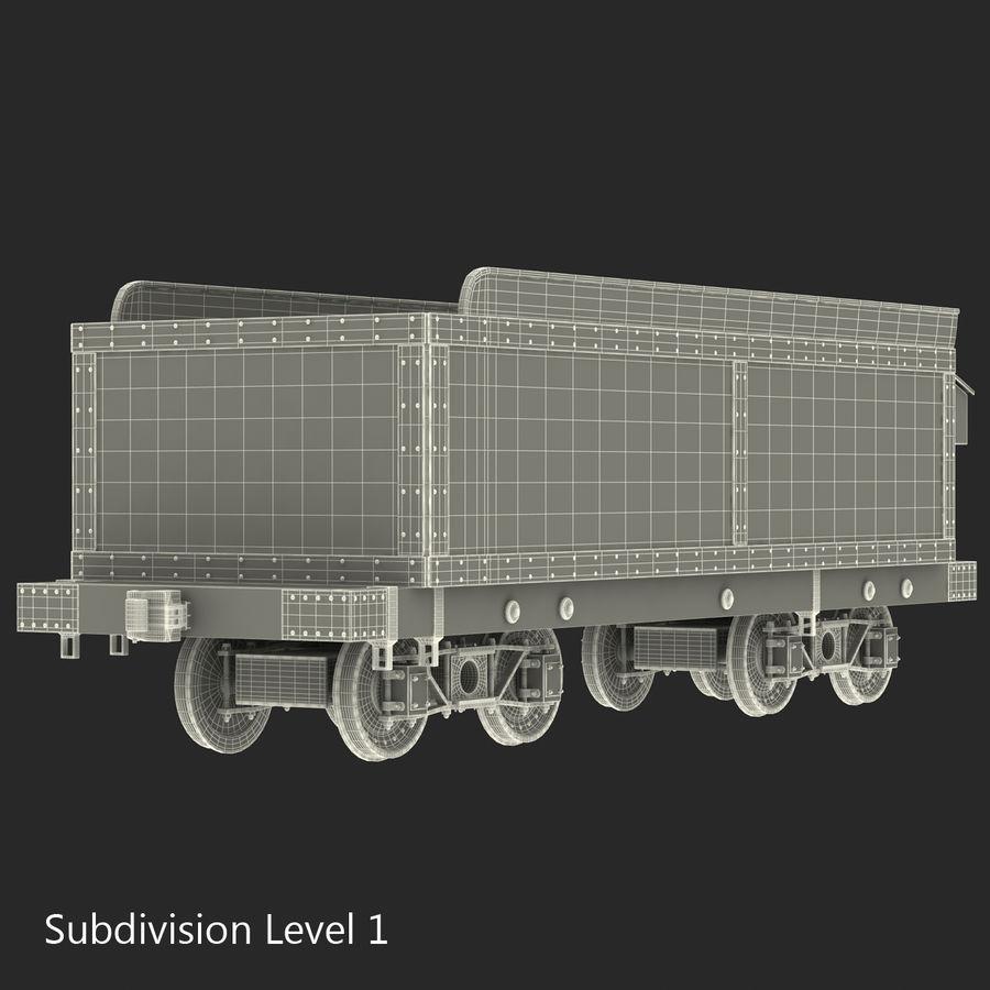 Old Coal Car Modèle 3D royalty-free 3d model - Preview no. 15