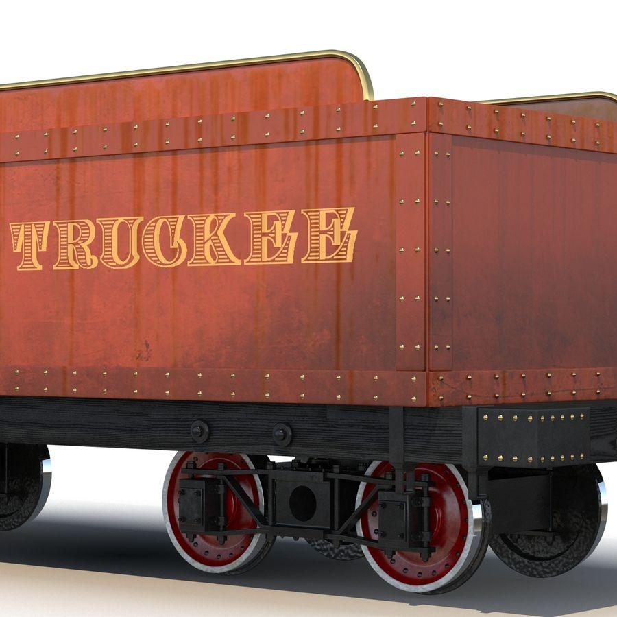 Old Coal Car Modèle 3D royalty-free 3d model - Preview no. 11