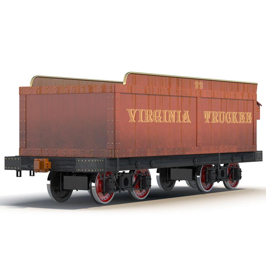 Old Coal Car Modèle 3D royalty-free 3d model - Preview no. 2