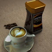 oro nescafe 3d model