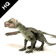 Drachen 3d model