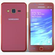 Samsung Z1 Wine Red 3d model