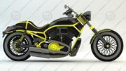 Cruiser motocyklowy 3d model