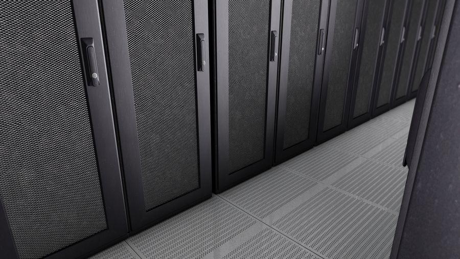 Rack para servidores royalty-free modelo 3d - Preview no. 5