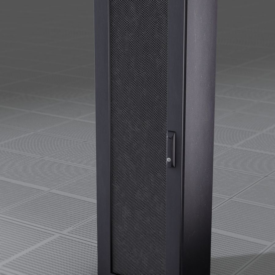 Server Rack royalty-free 3d model - Preview no. 1
