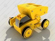 Toy Truck (module kit) 3d model