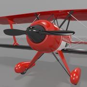 Steen Skybolt双翼飞机 3d model