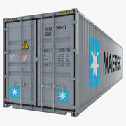 Container Industrie 40ft 3d model