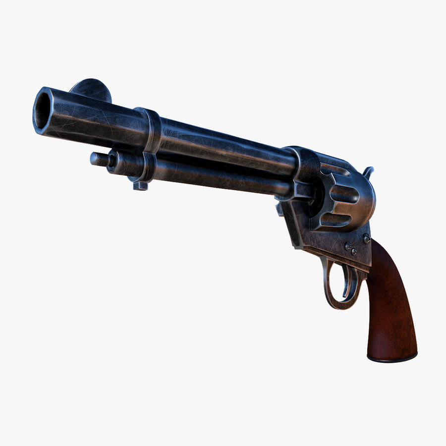 Revolver Colt Peacemaker royalty-free 3d model - Preview no. 1